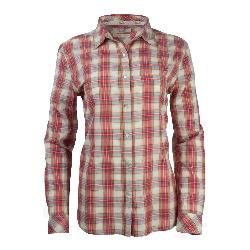 Purnell Garnet Madras Plaid Womens Shirt