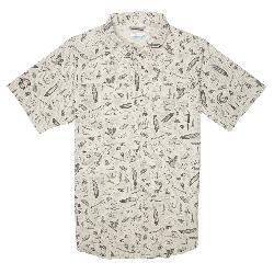 Columbia Pilsner Peak Print Short Sleeve Mens Shirt