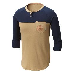 Columbia CSC 503 Graphic Henley Mens Shirt