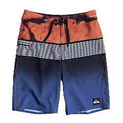 Quiksilver Highline Lava Division Boys Bathing Suit