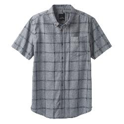 Prana Broderick Window Pane Mens Shirt