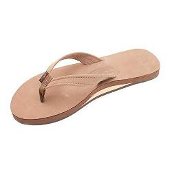Rainbow Sandals Catalina Single Layer Premier Leather Womens Flip Flops