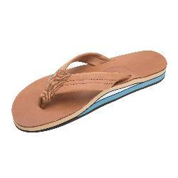 Rainbow Sandals Double Layer Premier Leather Womens Flip Flops 2020