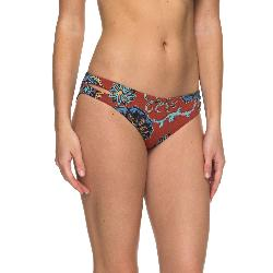 Roxy Softly Love Reversible 70s Printed Bathing Suit Bottoms