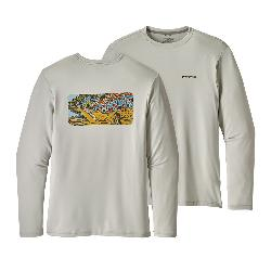 Patagonia Graphic Tech Fish Mens Shirt