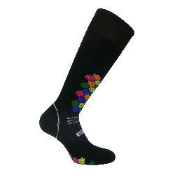 Euro Sock Ski Snowdrop Silver Womens Ski Socks