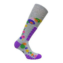 Euro Sock Ski Free Style Silver Womens Ski Socks