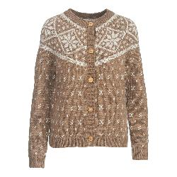 Woolrich Snowfall Valley Cardigan Womens Sweater