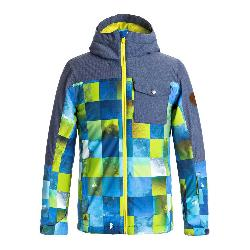 Quiksilver Mission Block Boys Snowboard Jacket