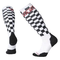 SmartWool PhD Slopestyle Medium Vans Checkerboard Snowboard Socks
