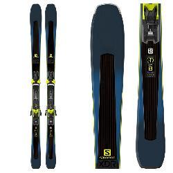 Salomon XDR 80 Ti Skis with Z 12 Walk Bindings 2019