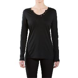 We Norwegians Base One Henley Womens Shirt