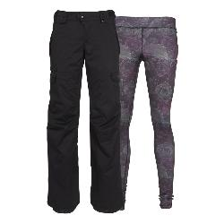686 Smarty 3-in-1 Cargo Womens Snowboard Pants