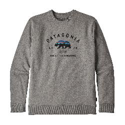 Patagonia Arched Fitz Roy Bear Crew Mens Sweatshirt