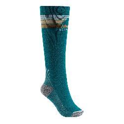 Burton Emblem Midweight Womens Snowboard Socks
