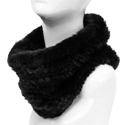 Mitchies Matchings Rabbit Knit Women's Neck Warmer