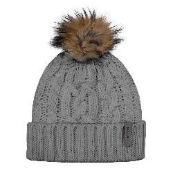 Rella Consider Cuff w/Faux Fur Pom Womens Hat