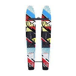 HO Sports Hot Shot Trainer Junior Combo Water Skis With Horseshoe Bindings 2020