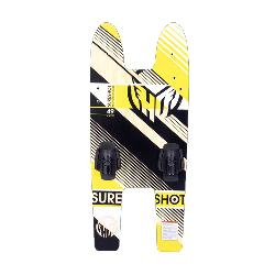 HO Sports Sure Shot Platform Trainer Junior Combo Water Skis With Bindings 2020