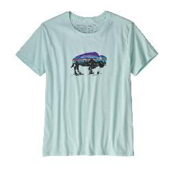 Patagonia Fitz Roy Bison Crew Womens T-Shirt
