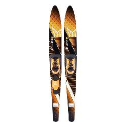 HO Sports Burner Combo Water Skis With Blaze Bindings 2020
