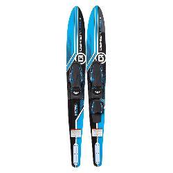O'Brien Celebrity Junior Combo Water Skis With Jr. X-7 Adjustable Bindings 2019