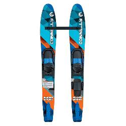 Connelly Super Sport Junior Combo Water Skis With Junior Slide Adjustable Bindings 2020