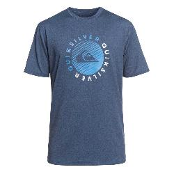 Quiksilver Razors Short Sleeve Mens Rash Guard