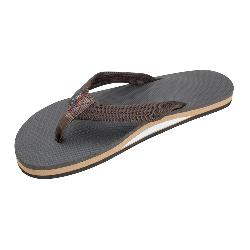 Rainbow Sandals Single Layer Classic Rubber Mens Flip Flops