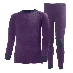 Helly Hansen Lifo Merino Girls Long Underwear Set