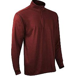 PolarMax Double Layer Mock Zip Mens Long Underwear Top