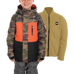 686 SMARTY 3-in-1 Boys Snowboard Jacket 2020