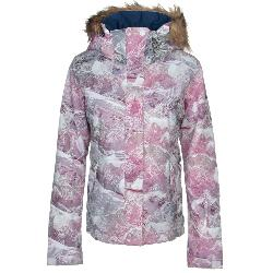 Roxy Jet Ski Faux Fur Womens Insulated Snowboard Jacket 2020