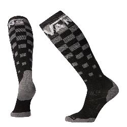 SmartWool PhD Snow Vans Checker Light Elite Snowboard Socks
