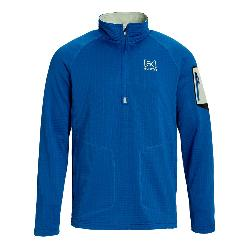 Burton ak Grid Half Zip Mens Mid Layer