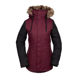 Volcom Fawn Faux Fur Womens Insulated Snowboard Jacket
