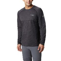 Columbia Mount Defiance Long Sleeve Crew - Big Mens Mid Layer