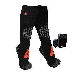 Action Heat 5 V Heated Wool Ski Socks
