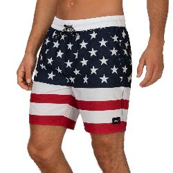 Hurley Patriot Volley 18in Mens Board Shorts