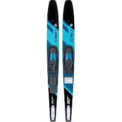 Connelly Quantum Combo Water Skis With Slide-Type Adjustable Bindings 2020