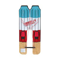 Connelly Firecracker Trainer Junior Combo Water Skis With Foot Strap w/Traction Pad Bindings 2020
