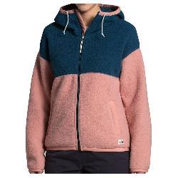 The North Face Fleece Mashup Full Zip Hoodie Womens Jacket