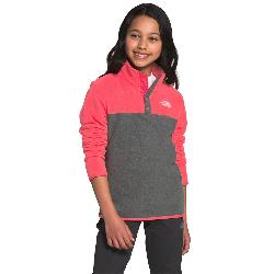 The North Face Glacier 1/4 Snap Girls Midlayer