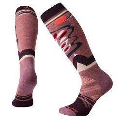 SmartWool PhD Ski Medium Pattern Womens Ski Socks
