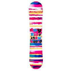 Joyride Stripes Pink Girls Snowboard