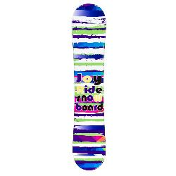 JoyRide Stripes Purple Rocker Girls Snowboard