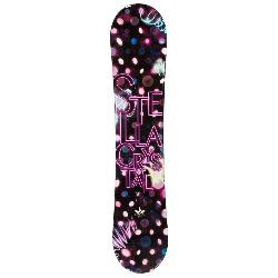 Stella Crystal Pink Womens Snowboard