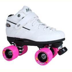 Rock GT-50 Zoom White Boys Speed Roller Skates