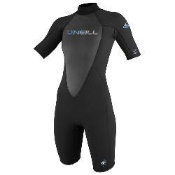 O'Neill Reactor 2/1 Womens Shorty Wetsuit