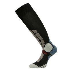 Euro Sock Digits Silver Light Ski Socks